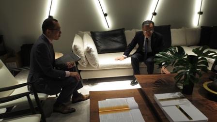 Ufficio Nuovo Japan : L ufficio mobile a emissioni zero secondo nissan gqitalia